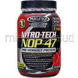 Nitro-Tech NOP-47 Fruit Punch 1 6 lbs MUSCLETECH