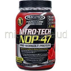 Nitro-Tech NOP-47 Fruit Punch 1 6 lbs MUSCLETECH