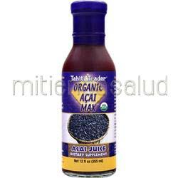 Organic Acai Max 12 fl oz TAHITI TRADER