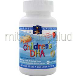 Children's DHA Strawberry 360 sgels NORDIC NATURALS