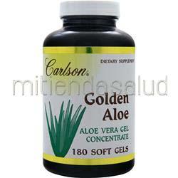 Golden Aloe - Aloe Vera Gel Concentrate 60 sgels CARLSON