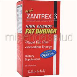 Zantrex-3 High Energy Fat Burner 56 caps ZOLLER LABORATORIES