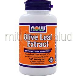 Olive Leaf Extract with Echinacea Angustifolia 100 caps NOW