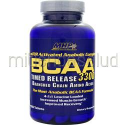 BCAA 3300 - Timed Release 120 tabs MHP
