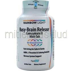 Busy-Brain Release - Coenzymate B 60 tabs RAINBOW LIGHT