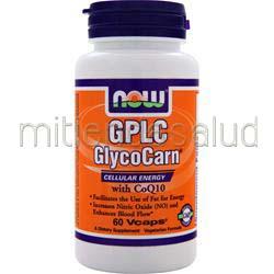 GPLC GlycoCarn 60 caps NOW