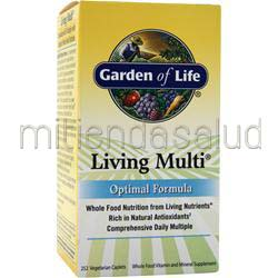 Living Multi Optimal 252 cplts GARDEN OF LIFE