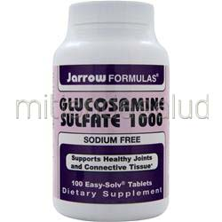 Glucosamine Sulfate 1000mg 100 tabs JARROW