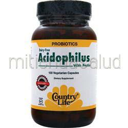 Acidophilus with Pectin 100 caps COUNTRY LIFE