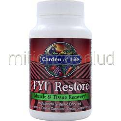 FYI Restore - Muscle and Tissue Recovery 60 caps GARDEN OF LIFE
