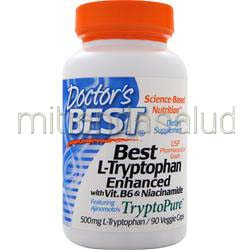 Best L-Tryptophan Enhanced w/ B6 & Niacinamide 90 caps DOCTOR'S BEST