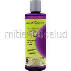 CoQ10 Enzyme Skin Care Perfecting Facial Toner 8 fl oz AVALON ORGANICS