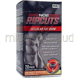 NO2 Ripcuts Powder Orange Ripcurl 20 pck MRI