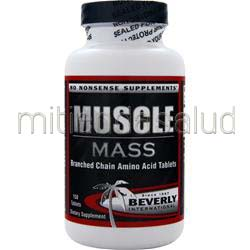 Muscle Mass BCAA's 150 tabs BEVERLY INTERNATIONAL