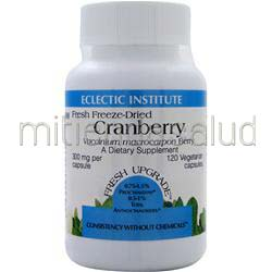 Fresh Freeze-Dried Cranberry 300mg 120 caps ECLECTIC INSTITUTE