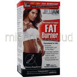 Jillian Michaels Maximum Strength Fat Burner 56 caps THIN CARE INTERNATIONAL