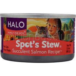 Spot's Stew for Cats Succulent Salmon Recipe 3 5 oz HALO