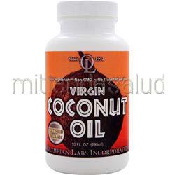 Virgin Coconut Oil - Certified Organic 10 fl oz OLYMPIAN LABS