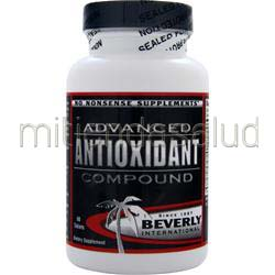 Advanced Antioxidant Compound 60 tabs BEVERLY INTERNATIONAL