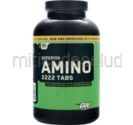 Superior Amino 2222 160 tabs OPTIMUM NUTRITION