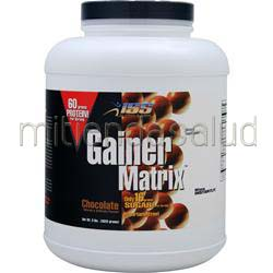 Gainer Matrix Chocolate 8 lbs ISS RESEARCH