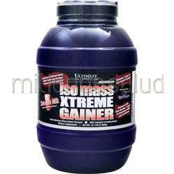 Iso Mass Xtreme Gainer Chocolate Milk 10 11 lbs ULTIMATE NUTRITION
