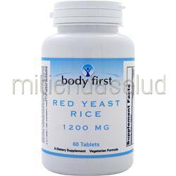 Red Yeast Rice 1200mg 60 tabs BODY FIRST