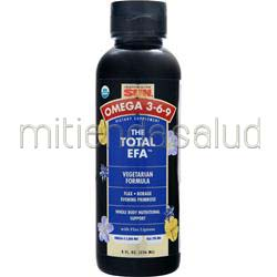 The Total EFA - Vegetarian Formula 8 fl oz HEALTH FROM THE SUN