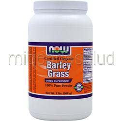 Barley Grass Powder - Certified Organic 2 lbs NOW