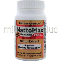 NattoMax Nattokinase 2000FU 30 caps JARROW