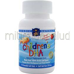 Children's DHA Chewable Strawberry 90 sgels NORDIC NATURALS