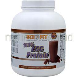 100% Egg Protein Ice Cream Chocolate 5 lbs SCI-FIT
