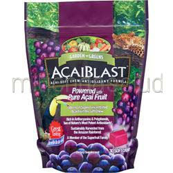 AcaiBlast 300mg Chews 30 chews GARDEN GREENS
