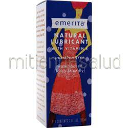 Natural Lubricant with Vitamin E 2 fl oz EMERITA