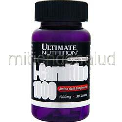 L-Carnitine 1000 30 tabs ULTIMATE NUTRITION