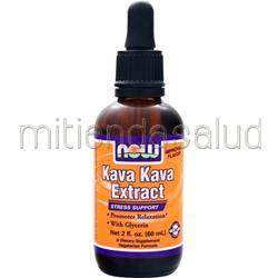 Kava Kava Extract 2 fl oz NOW