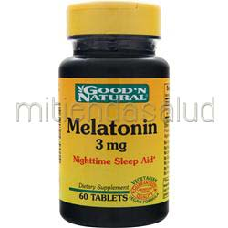 Melatonin 3mg 60 tabs GOOD 'N NATURAL