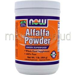 Alfalfa Powder 1 lbs NOW
