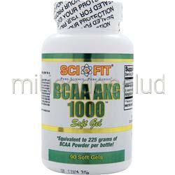 BCAA AKG 1000 90 sgels SCI-FIT