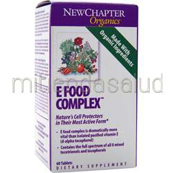E Food Complex 60 tabs NEW CHAPTER