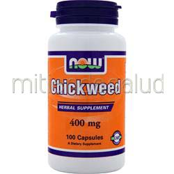 Chickweed 400mg 100 caps NOW