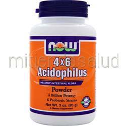 4 x 6 Acidophilus Powder 3 oz NOW