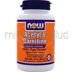 Acetyl-L Carnitine Powder 3 oz NOW