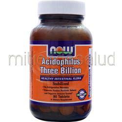 Acidophilus Three Billion 90 tabs NOW