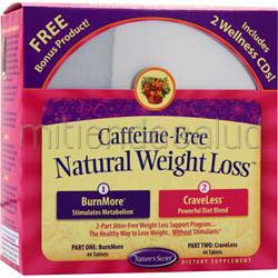 Caffeine-Free Natural Weight Loss 1 kit NATURE'S SECRET