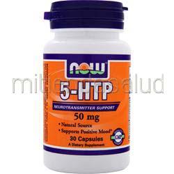 5-HTP 50mg 30 caps NOW