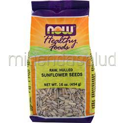 Sunflower Seeds - Raw Hulled Unsalted 16 oz NOW
