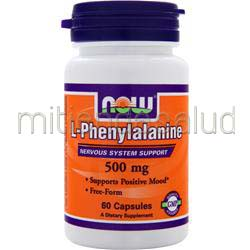L-Phenylalanine 500mg 60 caps NOW
