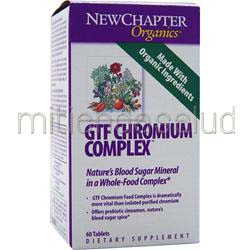 GTF Chromium Complex 30 tabs NEW CHAPTER