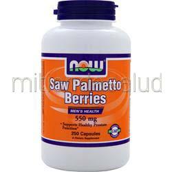Saw Palmetto Berry 250 caps NOW